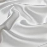 Атлас стрейч тонкий, art. 8001 №2 белый. Состав 92% полиэстер, 8% эластан
