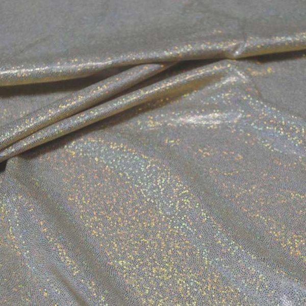 Голограмма трикотаж стрейч, арт. 8400, №46 оливковый. Состав 95% полиэстер, 5% спандекс.
