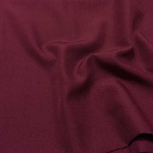 Габардин, арт. 826, 696, №6 бордовый, 100% полиэстер.