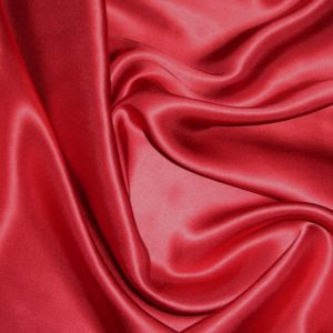 Атлас стретч тонкий, art. 8001 №81 темно красный. Состав 92% полиэстер, 8% эластан.