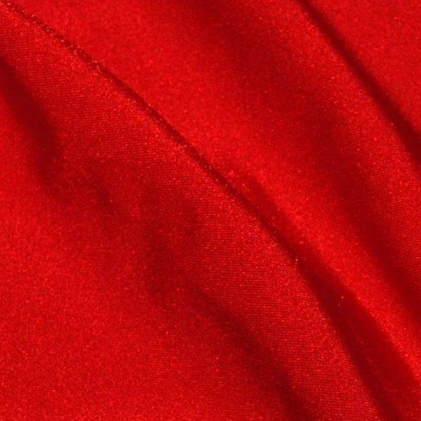Бифлекс (лайкра) стрейч, арт.8300, №1 красный. Состав 90% полиэстер,10% спандекс.