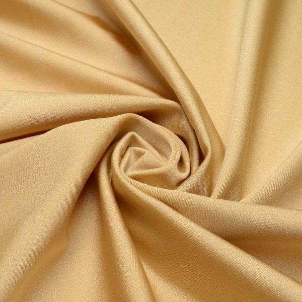 Бифлекс (лайкра) стрейч, арт.8300, №36 золотой. Состав 90% полиэстер,10% спандекс.