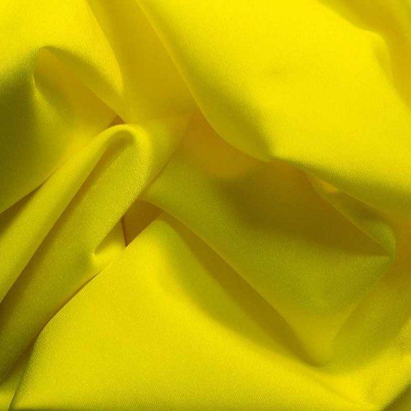 Бифлекс (лайкра) стрейч, арт.8300, №6 желтый. Состав 90% полиэстер,10% спандекс.