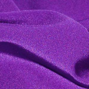 Бифлекс (лайкра) стрейч, арт.8300, №7 фиолетовый. Состав 90% полиэстер,10% спандекс.