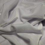 Бархат стрейч, арт. 8500 №10 белый. Состав: 92% полиэстер, 8% спандекс.