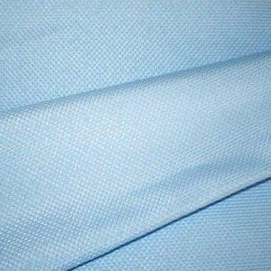 """Костюмная """"Рогожка"""", арт. 0977, голубая. Состав 95% полиэстер, 5% эластан."""
