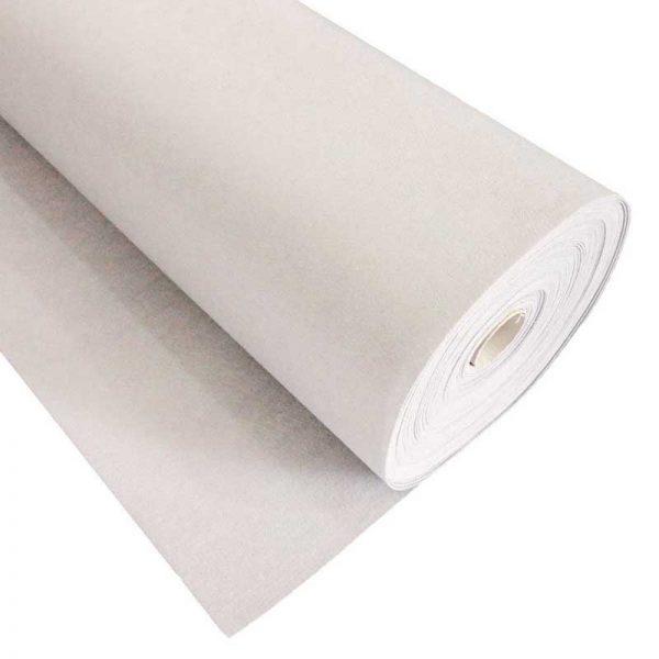 Фетр толщина 1 мм, ширина 0,85 м, №1 белый.
