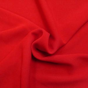 Шифон стрейч (вискоза), арт. 100D, №1 красный.