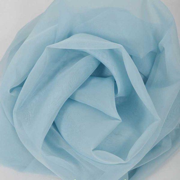 Шифон, арт. 8009, №17, голубой.