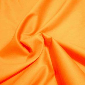 Полисатин, арт. 35342, №19 оранжевый. Состав 100% полиэстер.