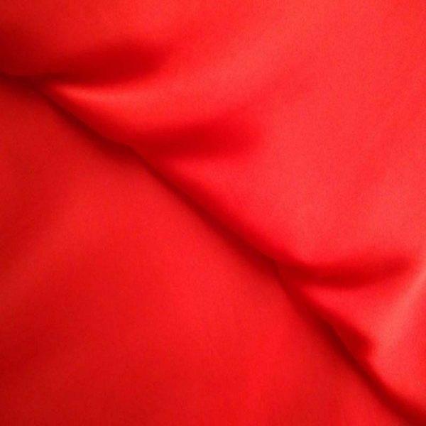 Полисатин, арт. 35342, №1 красный. Состав 100% полиэстер.