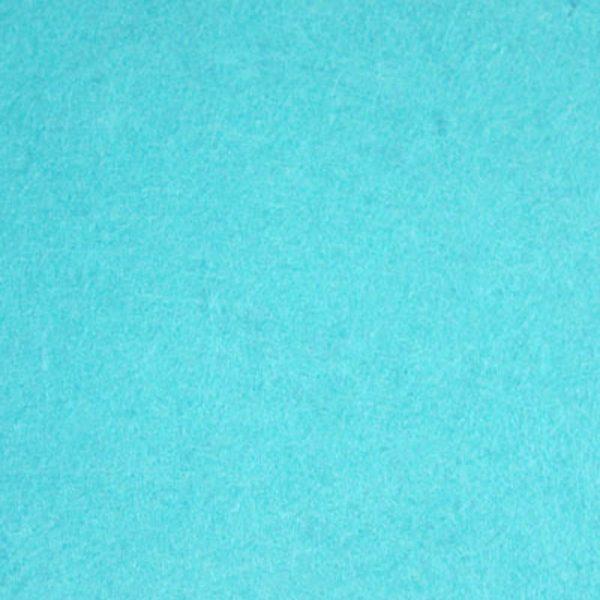 Фетр толщина 2 мм, ширина 1 м, №36 голубой.