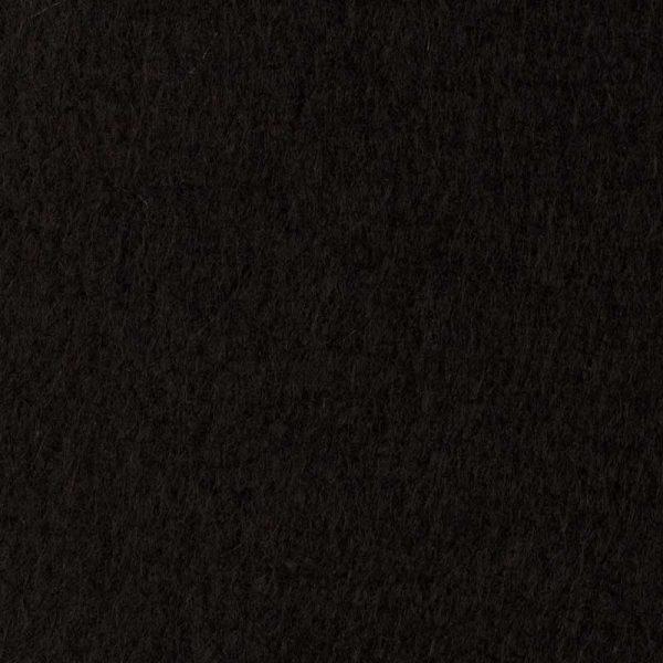 Фетр толщина 1 мм, ширина 0,85 м, №58 черный.