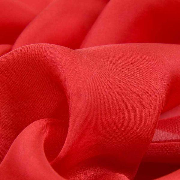 Шифон, арт. 8009, №1, красный.
