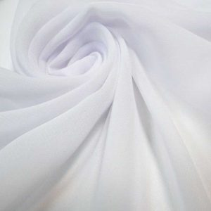 Шифон, арт. 8009, №89, белый.