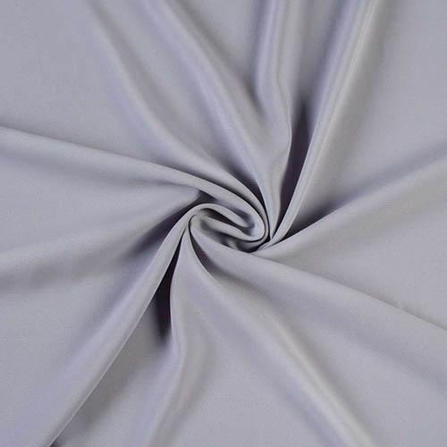 Шифон стрейч (вискоза), арт. 100D, №69 светло-серый. Состав 92% полиэстер, 8% эластан.