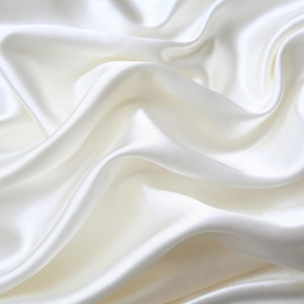 Подкладочная ткань - вискоза. Белая.