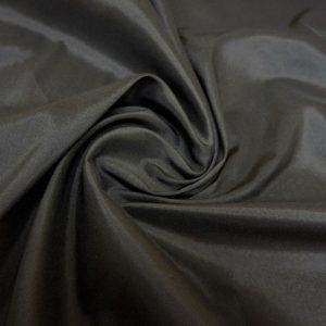 Подкладочная ткань - вискоза. Черная.