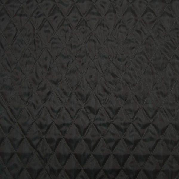 Стеганная подкладка на синтепоне, черная.