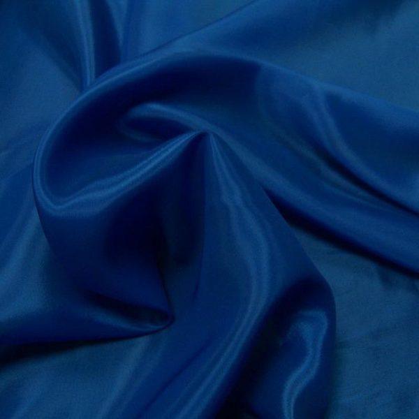 Подкладочная ткань - вискоза. Синий.