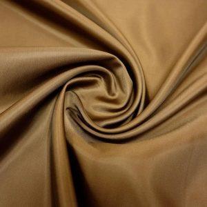 Подкладочная ткань - вискоза. Коричневая.