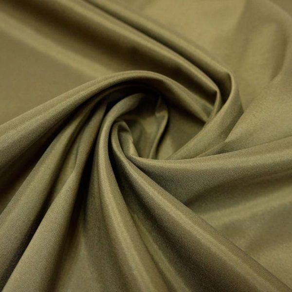 Подкладочная ткань - вискоза. Хаки.