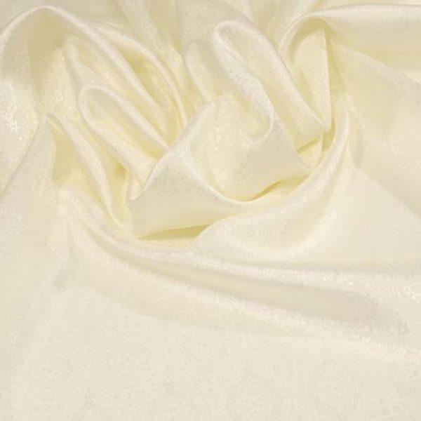 Подкладочная ткань - вискоза. Молочная.