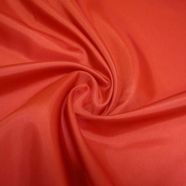 Подкладочная ткань - вискоза. Красная.