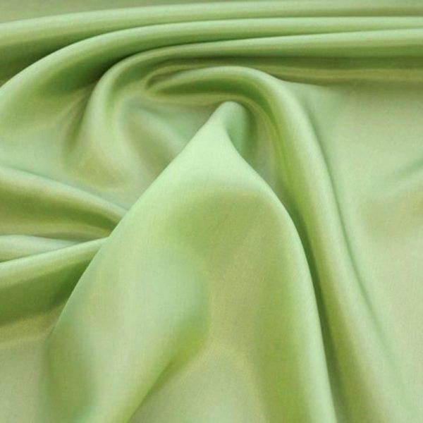 Подкладочная ткань - вискоза. Салатовый.