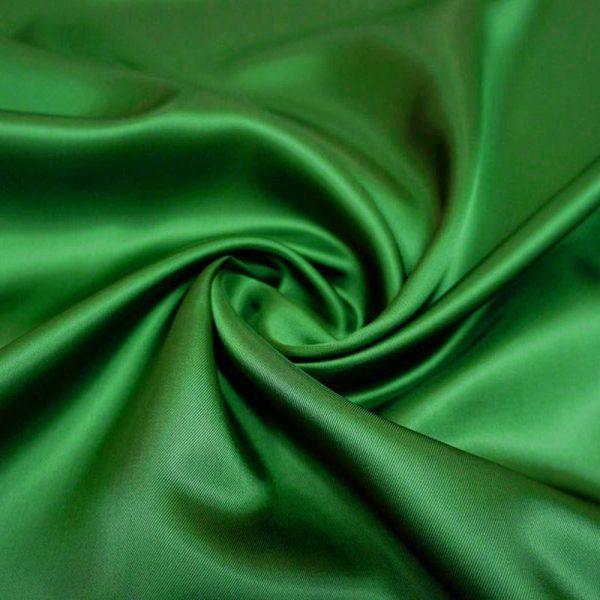 Подкладочная ткань - вискоза. Зеленая.