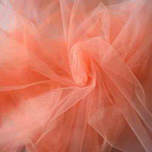 Фатин 20D мягкий блеск №14 персиковый
