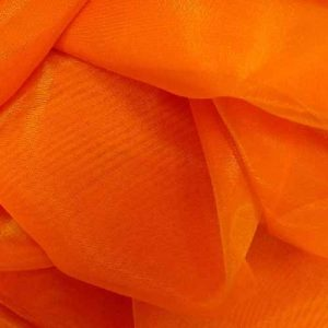 Фатин 20D мягкий блеск №4 оранжевый