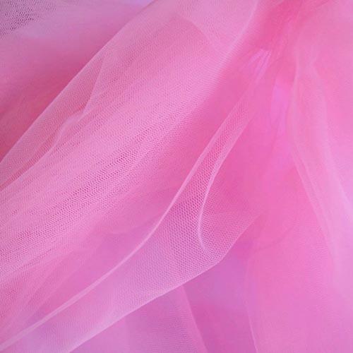 Фатин 20D мягкий блеск №5 розовый