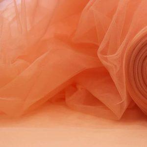 Фатин 20D мягкий блеск №6 абрикосовый