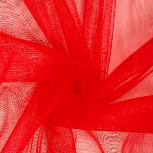 Фатин 20D мягкий блеск №8 красный