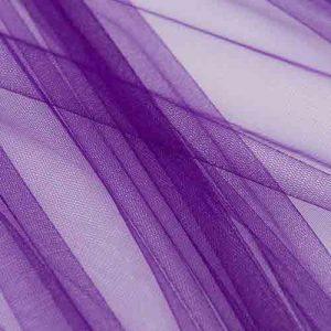 Фатин 20D мягкий блеск №9 фиолетовый
