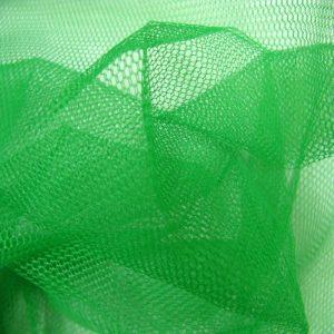 Фатин зеленый жесткий. Ширина 1,8 м. 100% Nylon.