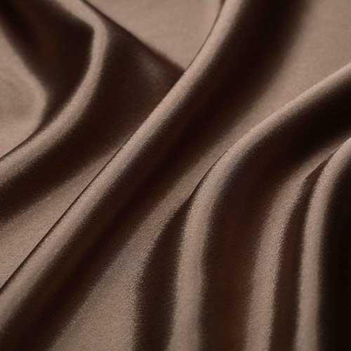 Атлас тонкий art.8001 №51 коричневый