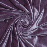 Бархат стрейч D art.8500 №25 серо-фиолетовый