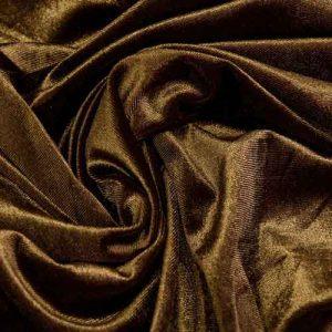 Бархат стретч art. 8500 №5 коричневый