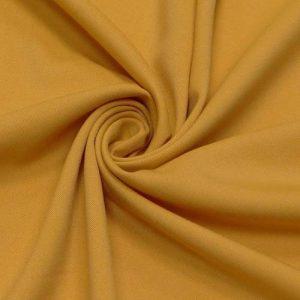 Костюмная вискоза-стрейч, арт. 6188 № 028 горчичный, 33% вискоза, 63% полиэстер, 4% эластан