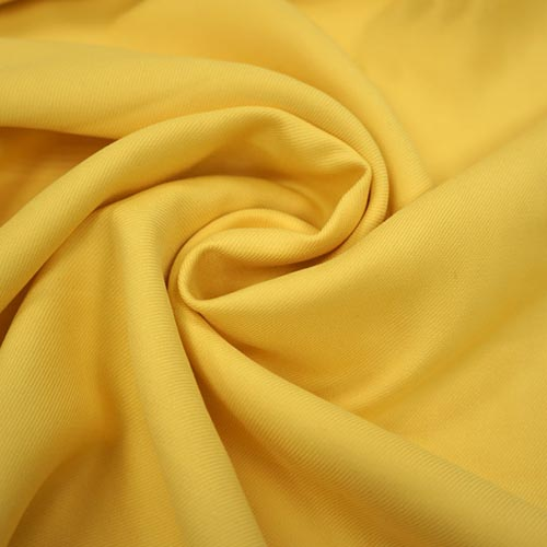 Костюмная вискоза-стрейч, арт. 6188 № 035 желтая, 33% вискоза, 63% полиэстер, 4% эластан