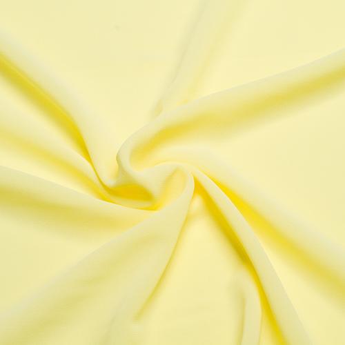 Шифон стрейч art.100D №92 светло-желтый