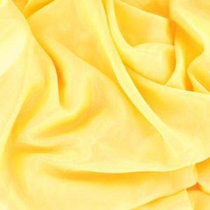 Сатин шифон стрейч Art.8028 № 3 светло-желтый
