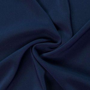 Сатин шифон стрейч аrt.8028 №15 темно-синий
