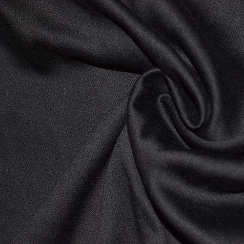 Вискоза однотонная art. 8101, №19 черная