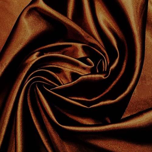 Креп-сатин art. 8007 №54 коричневый