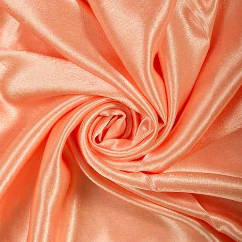 Креп-сатин art. 8007 №90 персиковый