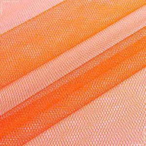 Фатин 60D жесткий №4 оранжевый