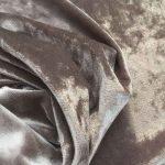 Бархат стретч art.8500 №15-1 серо-бежевый мраморный
